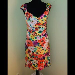 NEW RALPH LAUREN Young Royals Floral Dress-Size 6